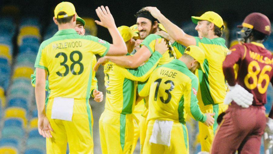 Mitchell Starc's five blows West Indies away to give Alex Carey winning start