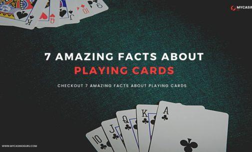 7 Fakta Menakjubkan tentang Bermain Kartu oleh Guru Kasino Saya