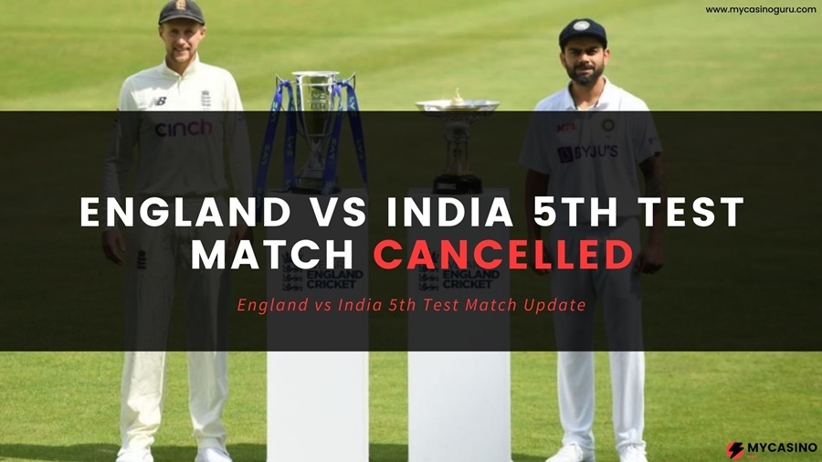 India Vs England 5th Test Match 2021 Cancelled