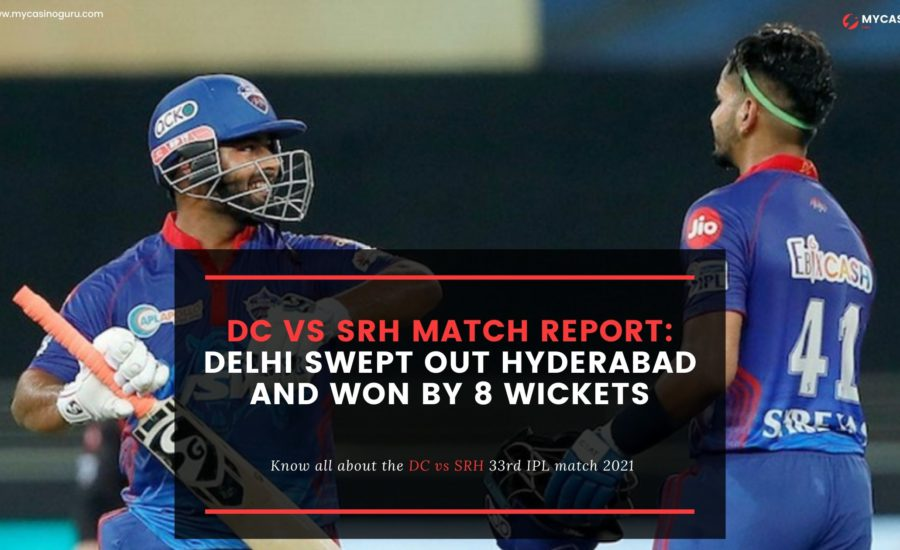 DC vs SRH Match Report – Delhi swept out Hyderabad and won by 8 wickets