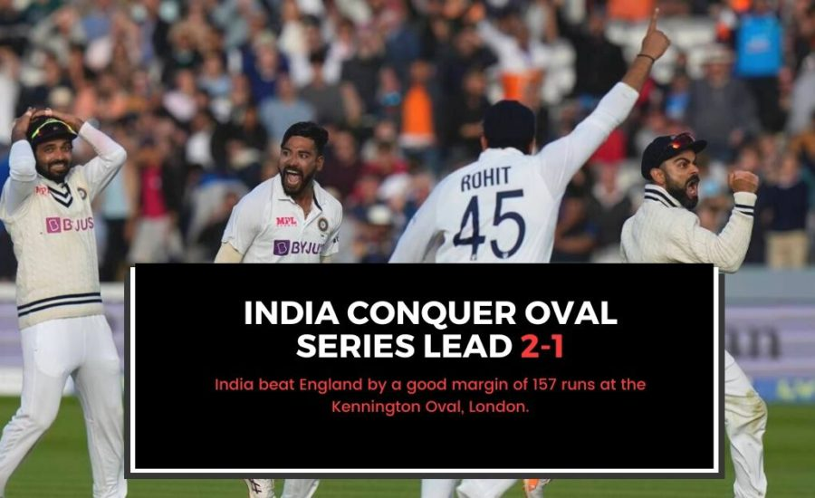India Wins 2 Tests in a series in England