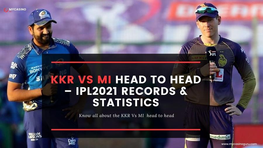 KKR vs MI Head to Head