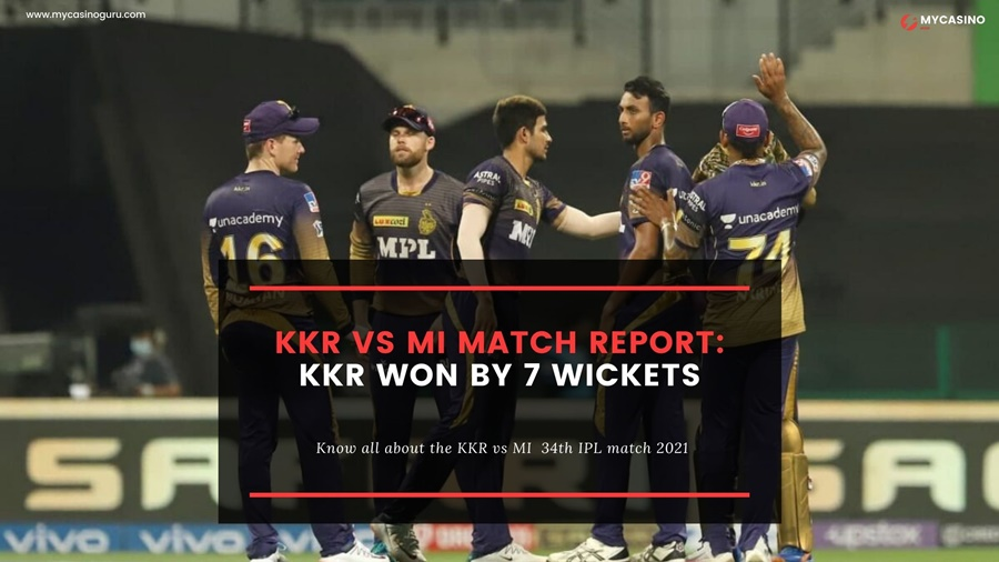 KKR vs MI Match Report – KKR Creams off a Smooth win against MI by 7 Wickets.