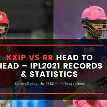 RR vs KXIP Head to Head – IPL 2021 Records & Statistics