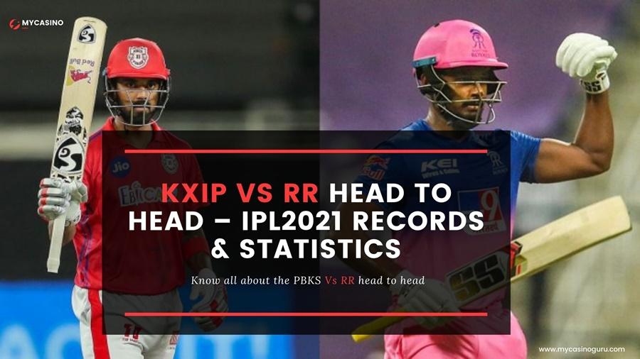 RR VS KXIP Head to Head