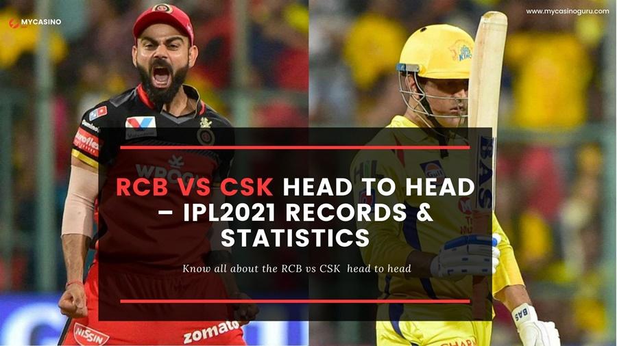 RCB vs CSK Head to Head