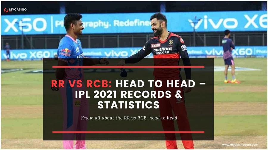 RCB vs RR Head to Head IPL 2021 – Report & Statistics