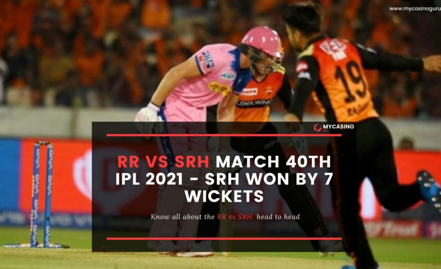 RR vs. SRH Match Report: Hyderabad Won By 7 wickets