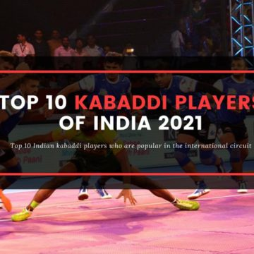 Top 10 Indian Kabaddi Players - who is your favorite?