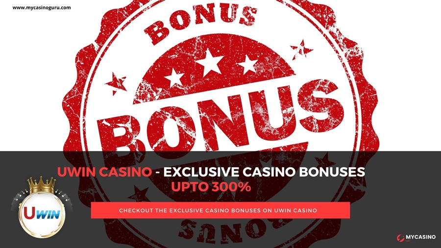 UWin Casino Bonuses – Avail superb deposit bonuses up to  300%