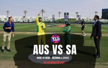 Australia vs South Africa T20 World Cup 2021 - Records & Stats