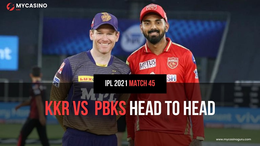KKR vs KXIP Head to Head IPL 2021 45th Match – Records and Stats