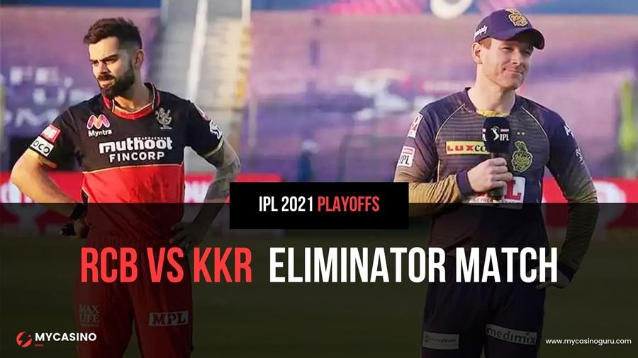 RCB vs KKR Qualifier 2 Match Prediction – Record & Stats IPL 2021