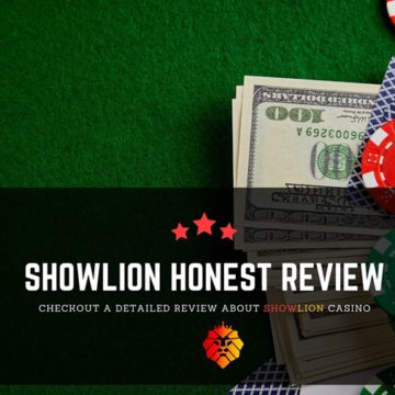 Showlion casino review - Play or Not?